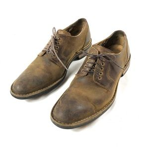 Cole Haan Men's Distressed Leather Oxfords Sz 7.5